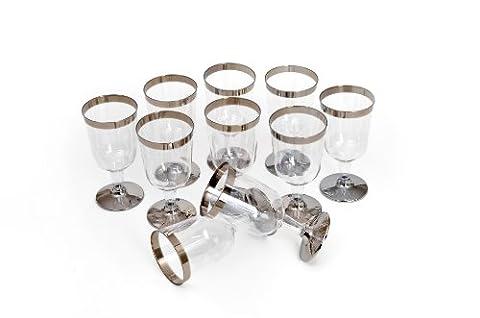 GRAEWE Disposable ® Juice / Wine Pack of 10 Plastic,