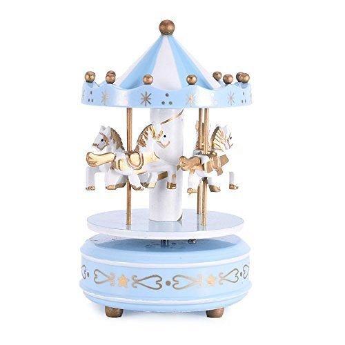 Carillon Ninna Nanna.Ict Giostrina Giostra Girevole Con Carillon Ninna Nanna Cavalli