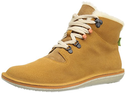 Camper Damen Beetle Stiefel Gelb (Dark Yellow 001)