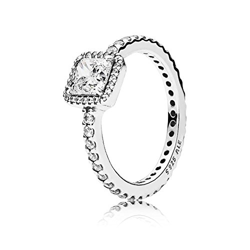 Pandora Damen-Ring Zeitlose Eleganz 925 Silber Zirkonia weiß Gr. 56 (17.8) - 190947CZ-56
