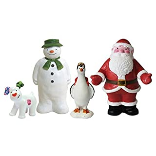 Anniversary House : The Snowman and The Snowdog Luxury Cake Decoration Set (4 pieces) by Anniversary House