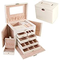 European Princess Portable Jewelry Packaging Box(White)