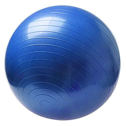 5701b4e7c6497 Libertroy Balles de Yoga Sportives Non Toxiques Bola Pilates Fitness Gym  Balance Fitball Exercice Ballon d'entraînement pour Pilates - Bleu 55CM