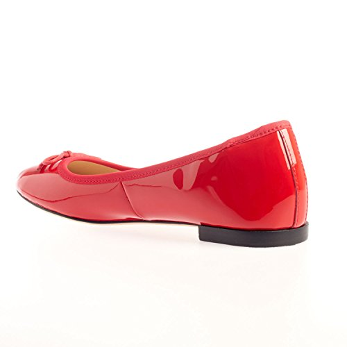 Vivikka Damen Ballerinas | Pretty - Leder - Ballerina Schuhe Rot