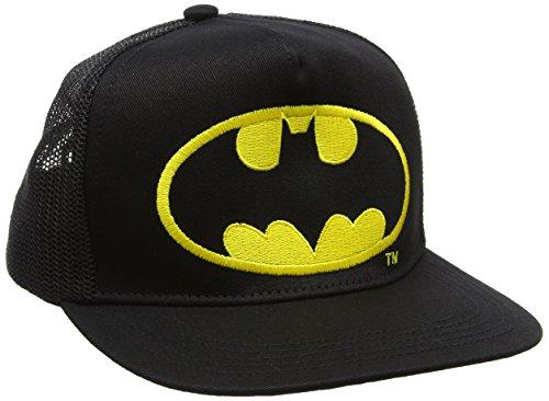 Batman Unisex Baseball Cap Logo-Kids, schwarz, One Size