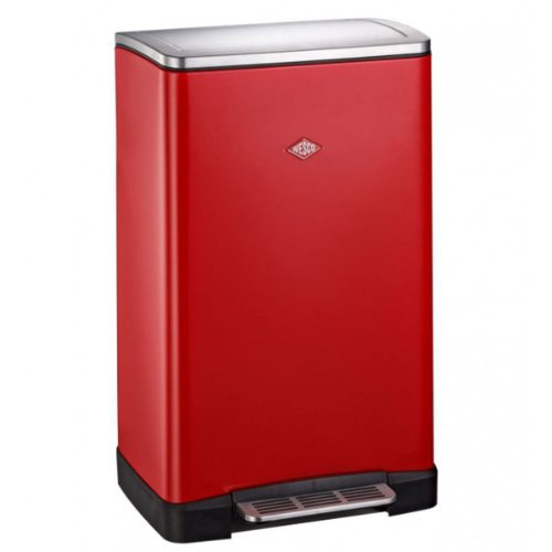 Wesco 381411-02 Hausmülltrenner Big Double Boy rot