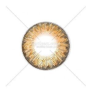Farbige Kontaktlinsen ohne Stärke, Farbe: Karamell
