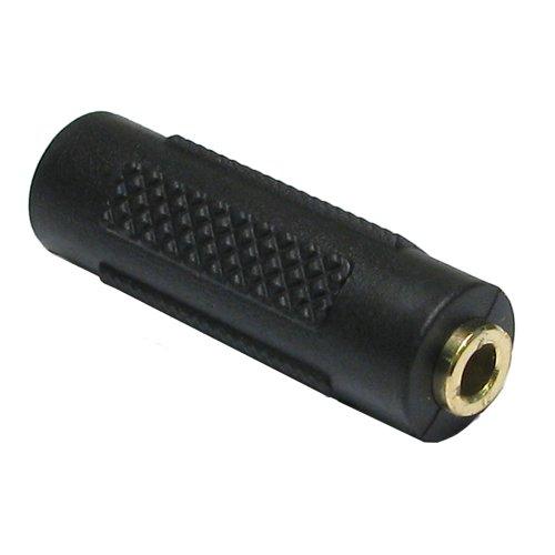 3,5 mm 3,5 mm Klinkenstecker Kupplung Koppler Stereo Kopfhörer Adapter Vergoldeten