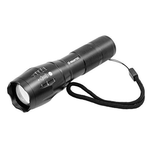 nicololfle LED-Taschenlampe LED-Taschenlampe Einstellbarer Fokus Handheld Taschenlampe Super helle 1000 Lumen Taschenlampe Zoomable und Wasserdichte Camping Outdoor-Taschenlampe
