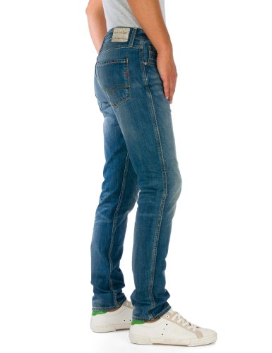 Replay Anbass - Jeans - Droit - Homme Bleu (BLUE 9)