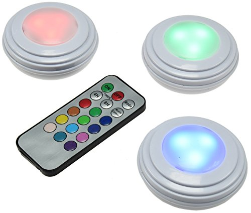 LED RGB-Fregadero de montaje Leuchten Juego 3Leuchten + IR de Fb I...