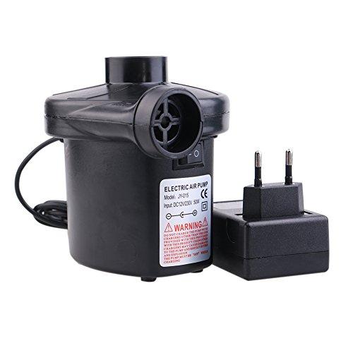Dada tragbar DC elektrische Luftpumpe, Volumenpumpe/Deflator Elektrische Pumpen mit 3Düsen für Air Bett luftobjekte–Air Matratze Raft Bett Boot Pool Spielzeug - 4