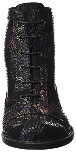 Neosens S865 Fantasy Floral Black Rococo, Bottes Classiques Femme Noir (Floral Black)