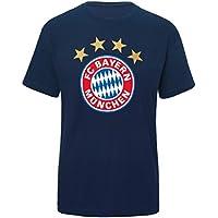 FC Bayern T-Shirt Logo, navy