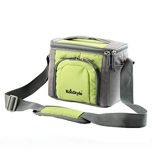 Sac de pique-nique en plein air imperméable à l'eau, sac d'isolation portatif sac de boîte à lunch barbecue aliments réfrigérés, sac à lunch étudiant multifonctionnel 21 × 16 × 18 cm