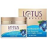 Lotus Herbal Nutranite Skin Renewal Nutritive Night Cream   50g