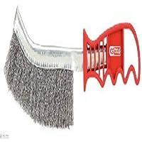 KS Tools - Cepillo para pinzas de freno (acero fino, mango de plástico)