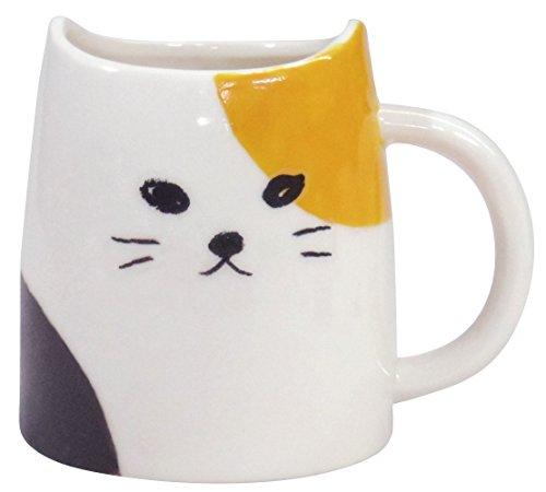 Katze Keramik Tasse Calico Schildpatt Katze 330ml aus Japan san2594-3 330 Audio