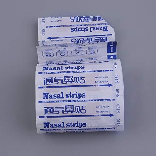 Preisvergleich Produktbild 50 stücke Große Atmung Nasale Streifen Richtige Weise zu Schnarchen Anti Schnarchen Streifen Leichter Atmen Schlafen Menschliche Gesundheitspflege