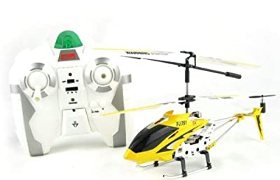 Remote Control FJ-751 Gyroscope Stabilizing System Aluminium I/R Controlled USB Helicopter