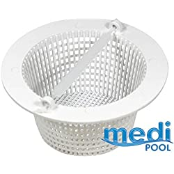 mediPOOL–Skimmer cesta para piscina incorporado–AR500