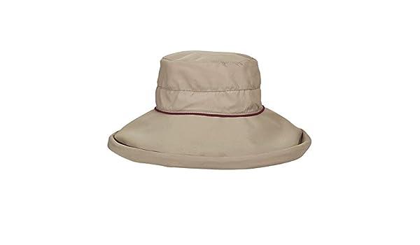 5d1e68ad408981 Stetson UV-beschermende Anti muggen hoed voor Dames - Paars: Amazon.fr:  Sports et Loisirs