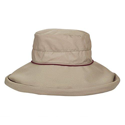 UV Hut mit gro?em Rand für Damen von Stetson - lila