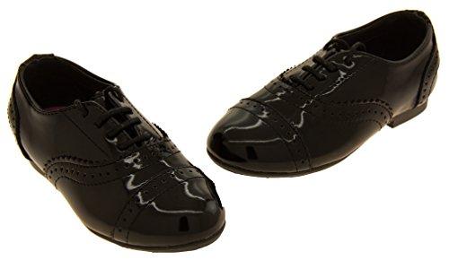 Richelieu Filles GOLA Chaussures en cuir noir