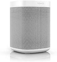Sonos One Generazione 2 Smart Speaker Altoparlante Wi-Fi Intelligente, con Alexa integrata, AirPlay e Google A