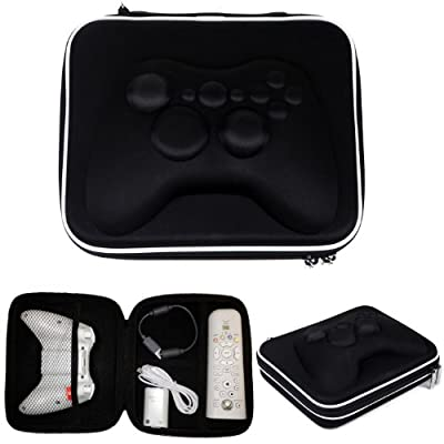 HDE Gamepad Airform Hard Carrying Case Travel Bag for Xbox 360 Controller w/ Strap by HDE