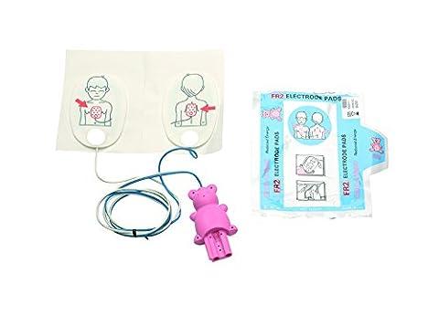 Philips Électrodes de défibrillation pour bébé/enfant