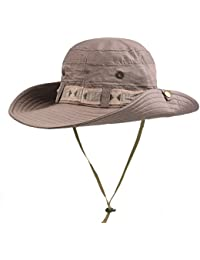 7ba8d18acaf Sunbo Men Outdoor Sun Hat Bucket Hats For Fishing Camping Cycling Hunting  Golf Hiking Traveling