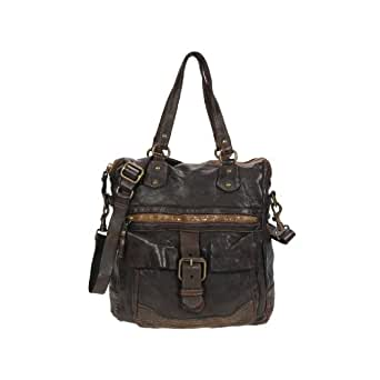Campomaggi Women's Manici Top-Handle Bag Brown Moro Braun
