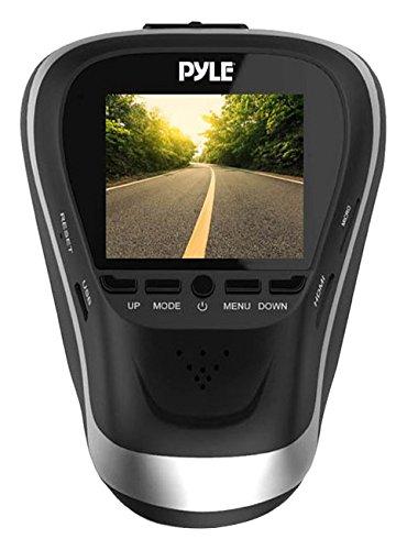 Pyle pldvrcam25-1080p Dash Cam HD Armaturenbrett Fahren Kamera für Autos und Fahrzeuge mit Nachtsicht-diskret und sicher Fenster-Halterung-Snap Bilder und Video aufnehmen (Fahren Records Kamera)