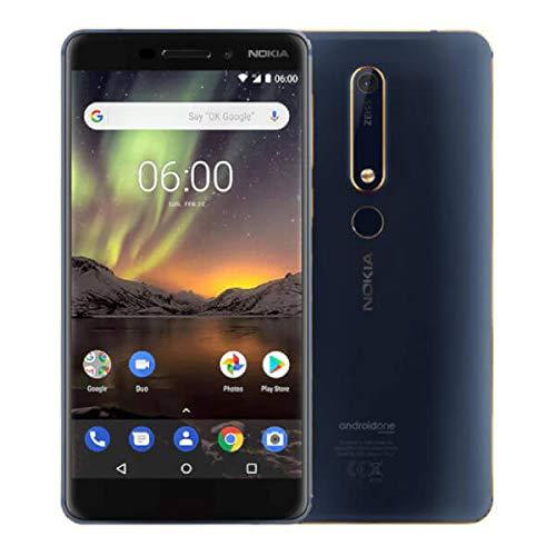 Nokia 6.1 32GB Dual-SIM ohne Vertrag blau-gold (Nokia Gsm 4g)