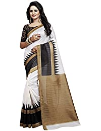 Nirmla Fashion Bhagalpuri Cotton Silk Saree With Blouse Piece(Saree For Bhagalpuri_Free Size)
