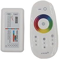 JOYLIT RF 2.4G Controlador de pantalla táctil 4x6A 288W (RGB + Blanco) RGBW LED Controlador Para Tiras LED RGBW