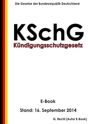 Kündigungsschutzgesetz Kschg Amazonde G Recht Bücher