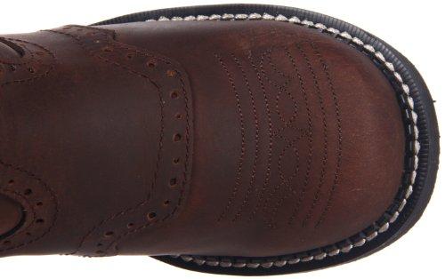 Justin Boots  L9909, Bottes et bottines cowboy femme Marron - Bark