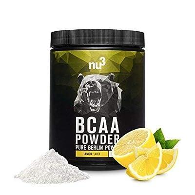 nu3BCAA Powder-Powder by Optimum Amino Acids (Ratio 2: 1: 1 by nu3 GmbH