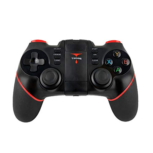Bluetooth Controller Gamepads, Mobiler Gamecontroller für PUBG BT 4.0, Android Game für Android/VR/iOS/iPhone/iPad, Kabelloser Fernbedienung Gamepad für Unterstützt Mobile Key Mapping -