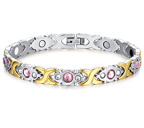 4b4a092009590 Jeracol Magnetic Bracelets Women Steel | Offer of the day