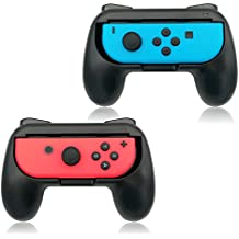 FYOUNG Nintendo Switch Joy-con Grip, Controller Comfortable Handles Grip kits Pack of 2 Wear-Resistant Protect Handheld Gamepad for Switch Joy con-Black