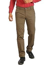 Basilio's SuperFine Cotton Men's Formal: : Semi Casual Trouser - B07166SKKC