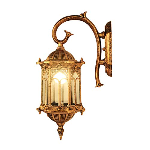 Wandlampe Retro Antik Industrie Design Bronze Eisen Kunst LED Wandleuchter Wandstrahler Wandspot...