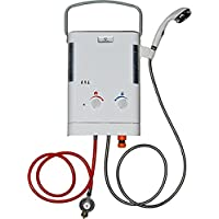 Calentador de paso continuo de gas para exteriores Eccotemp CE L5 (presión de gas: