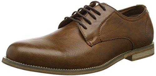 new-look-mens-3804537-derbys-zapatos-de-cuero-para-hombre-marron-18-tan-44-eu