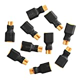 Sharplace 10Pcs XT30 Female to XT60 Male Connector Plug for RC Drone Quadcopter Accessory from Sharplace