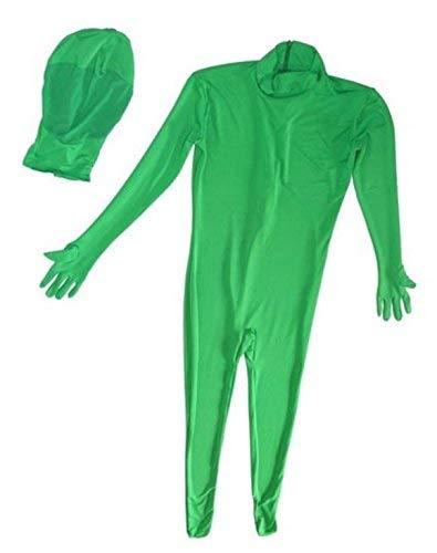 Bresser BR-C2XXL Zweiteiliger Chromakey Anzug, XXL - Grüne Morphsuits