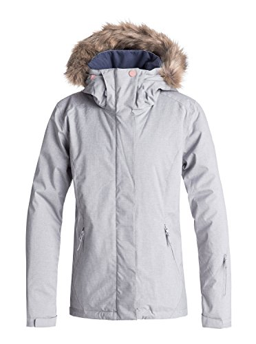 Roxy Jet Ski - Snow Jacket for Women - Snow Jacke - Frauen - XL - Grau